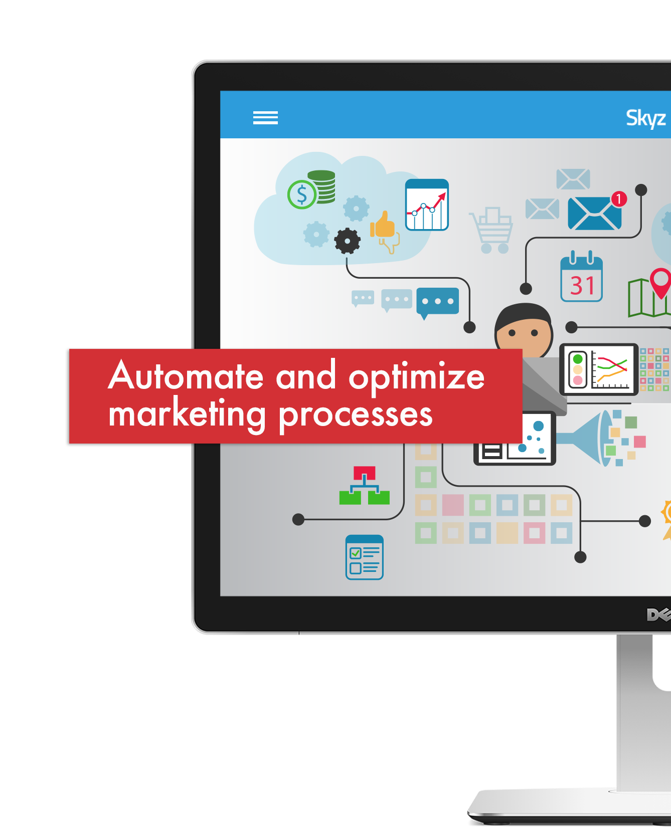 Marketing automation with Skyz CRM