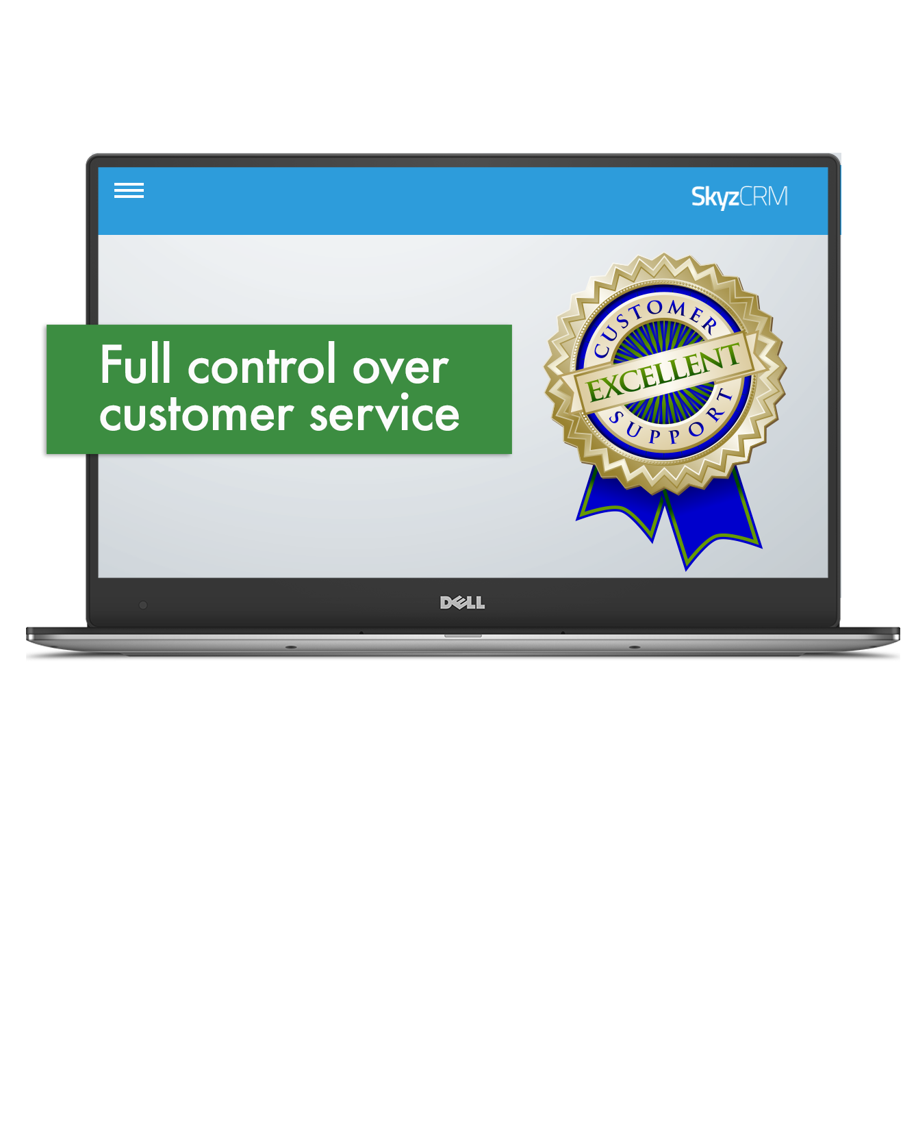 Customer service control with Skyz CRM
