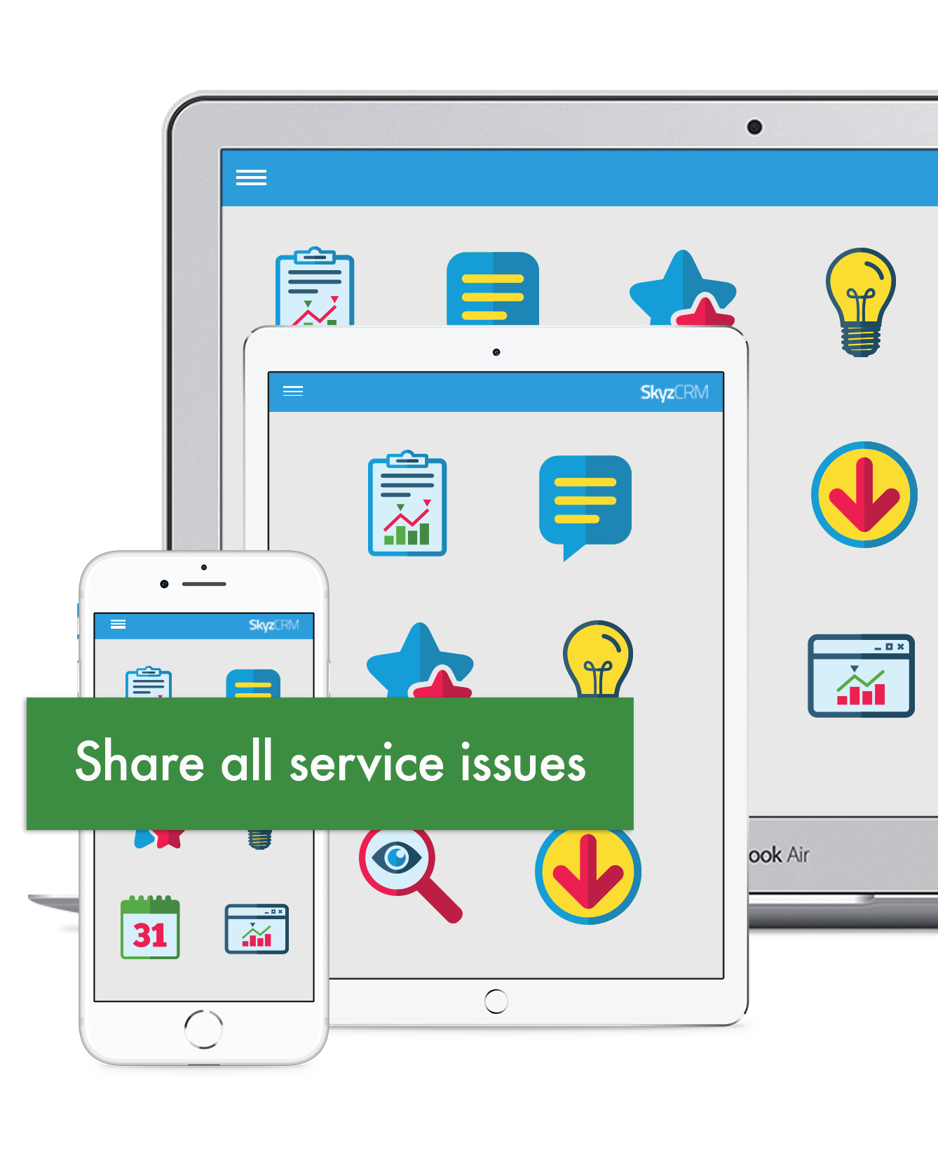 Information management with Skyz Service