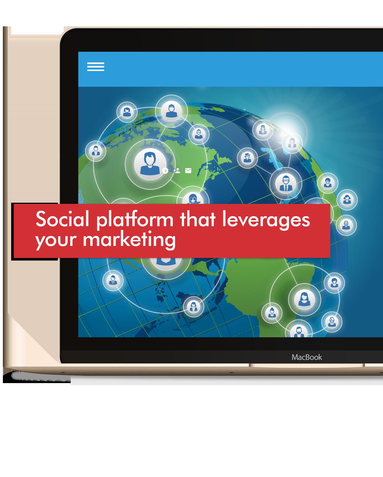 Social campaign with Skyz CRM
