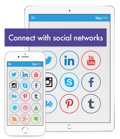 Social sharing with Skyz Sales