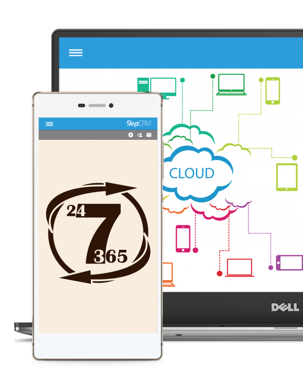 Service anytime anywhere with Skyz CRM