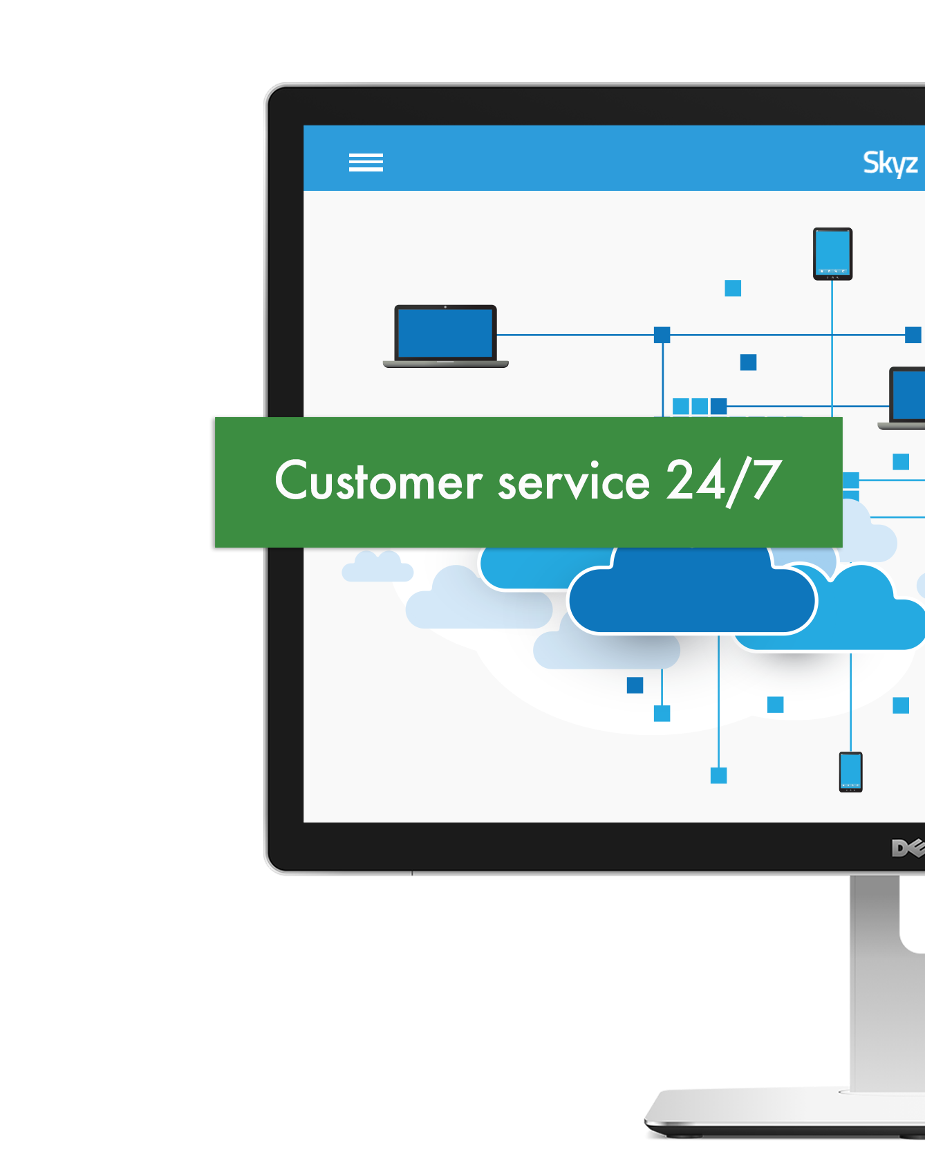 Skyz Service cloud technology